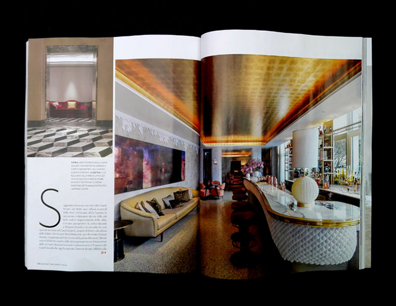 Light4 Bespoke Project Architectural Digest Magazine The St Regis Venice Slide 04