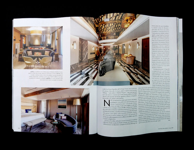 Light4 Bespoke Project Architectural Digest Magazine The St Regis Venice Slide 05
